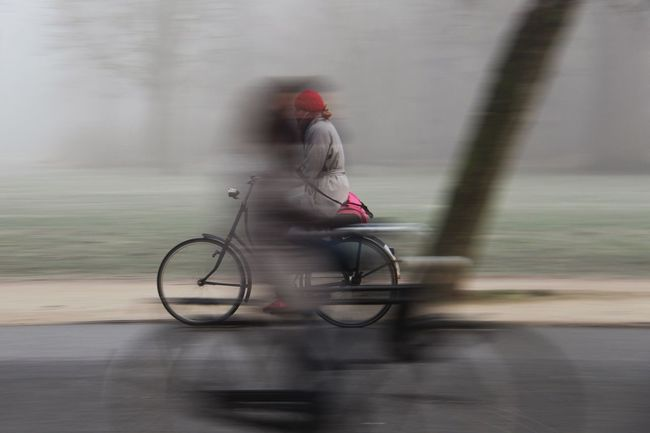 Blurred Motion Transportation Motion Outdoors Speed Movement Movement Photography Movementphotography Bycicle Bycicle Rider