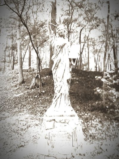 Camp Sidney Dew Camping Black And White Statue Lady Liberty Statue Of Liberty
