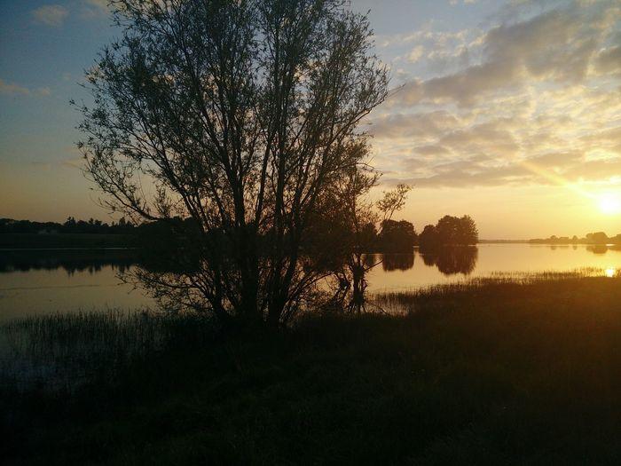 Coucher de soleil au bord de l'eau Sundown Lac Carpiste Nature Photography Harmony With Nature