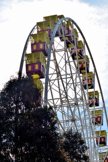 Amusement Park Amusement Park Ride Built Structure Carnival Carnival Rides Ferris Wheel Low Angle View Outdoors Wheel