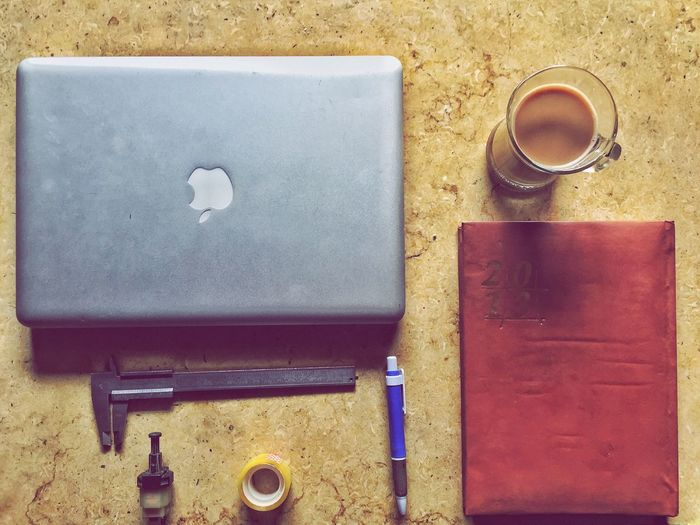 First Eyeem Photo Coffee Cup High Angle View Coffee - Drink Refreshment Drink Food And Drink Table No People Indoors  Technology Day Mac MacBookPro