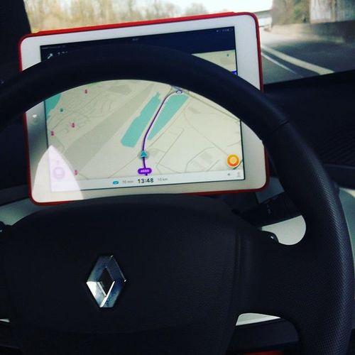car improvement dotdean style Waze  Ipad @renault_de @renault_live Electromobility Twizzy Electric Leafpetrol @leafpetrol @probefahrer Renault