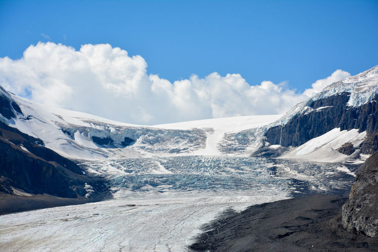 Athabasca Glacier Beauty In Nature Canada Cold Temperature Day Glacier Gletsjer Landscape Lonely Planet Mountain Nature No People Outdoors Scenics Sky Snow Travel Travel Destinations