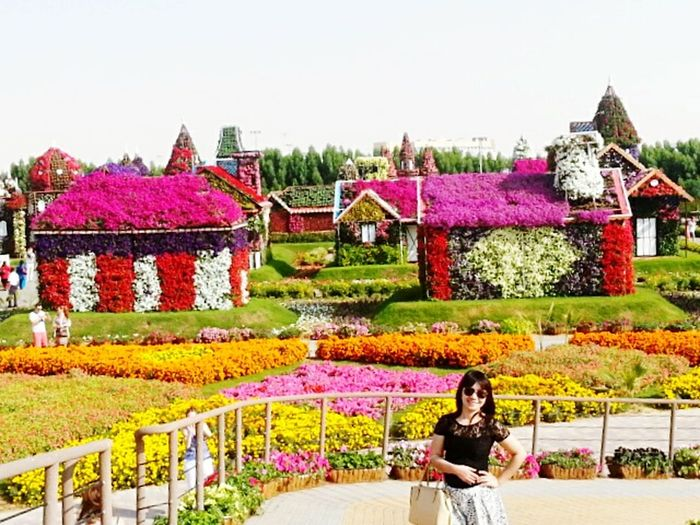 I've been there. @miracle garden, Dubai UAE.