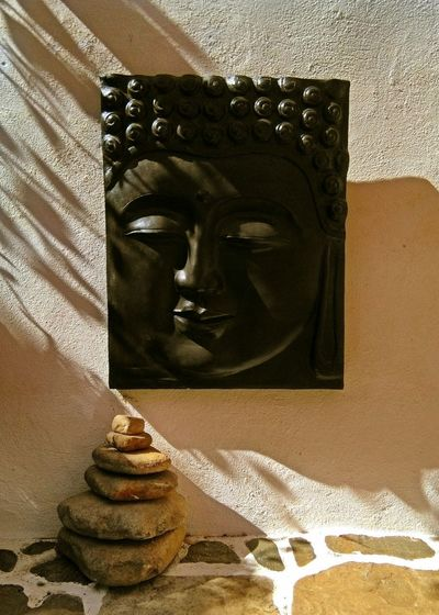 Birthday Buddha. Indoors  Statue No People Shadow Close-up Bedroom Day