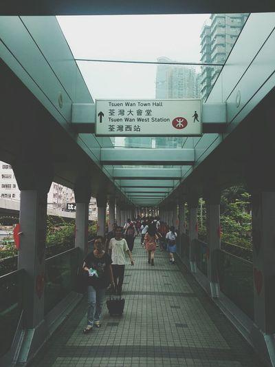 Hong Kong Tsuen Wan Bridge Rain Day rain