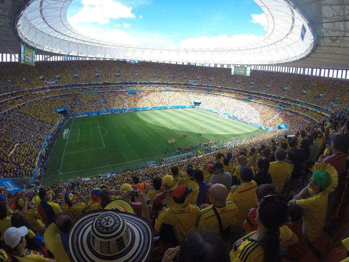 colombia 2 - 1 ivory coast Brazil2014WorldCup Brasilia♡ Estadionacionaldebrasilia FIFAWorldCup2014