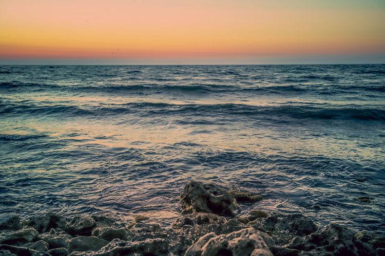 Golden beach 2 Water Wave Sea Sunset Beach Sand Horizon Sunlight Sun Multi Colored Tide Low Tide Coast Coastal Feature Romantic Sky Seascape Dramatic Sky Seaweed Atmospheric Mood Surf Pebble Beach View Into Land Marram Grass Coastline Rocky Coastline Headland Calm Moody Sky Storm Cloud Turquoise