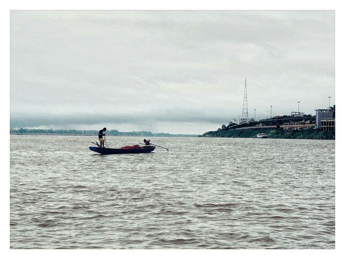 Let's settle your life here in nakhon phanom, Khong river. Khong River Life Landscape
