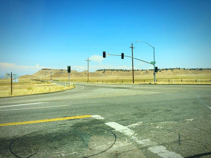 Fresno desert.