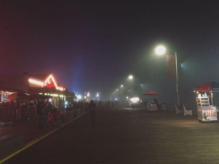 Fog Santa