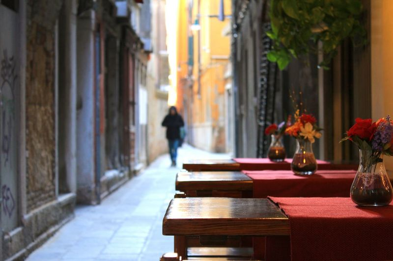 Venice Italy Canon60d Table Alley Traveling Wood Table Quite Relax Little Space Feel The Journey Your Ticket To Europe Be. Ready.