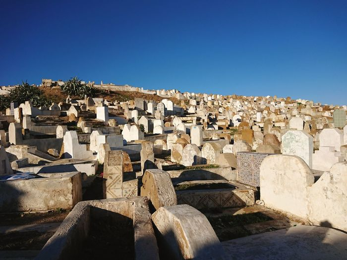 Cemetery in morocco