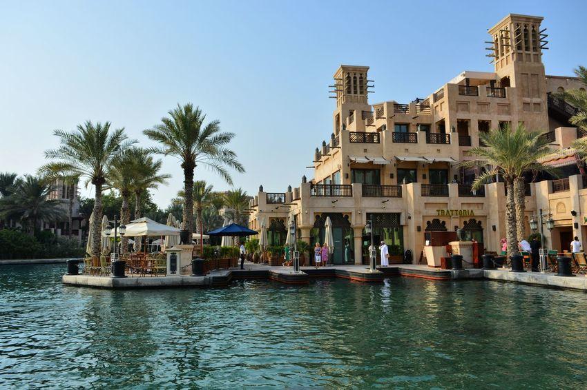 Built Structure Waterfront Outdoors Dubai Architecture Riverbank