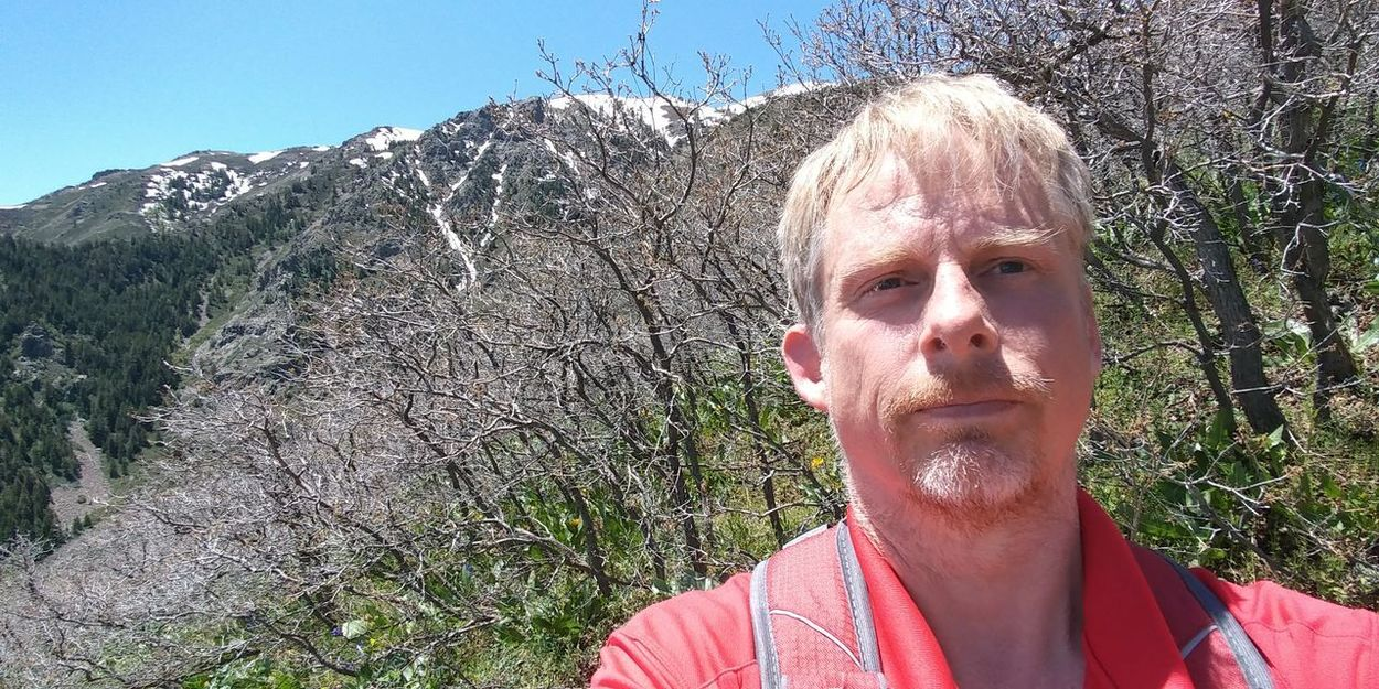One Person Day Outdoors Trails WasatchFront Above 6800 Ft Hiking Trail Wasatch Mountains Beauty In Nature Nature Adult Mountains Mountain Range Beautiful Nature Landscape