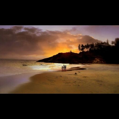 Kovalam Trivandrm Kerala Sunset _soi _oye Screaming_shots