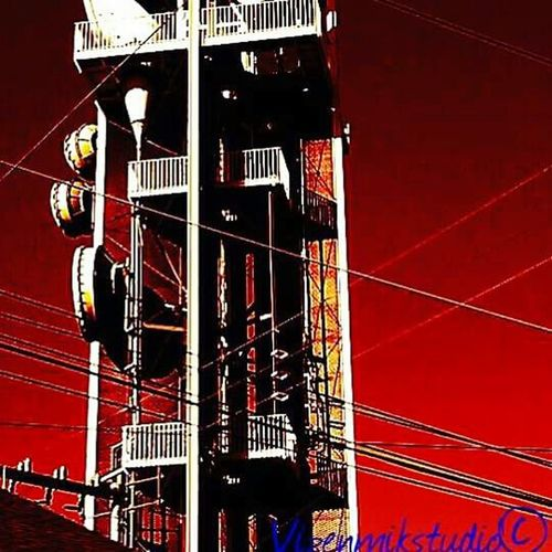 Outdoors Photograpghy  TV tower Colors Seattle color photograph