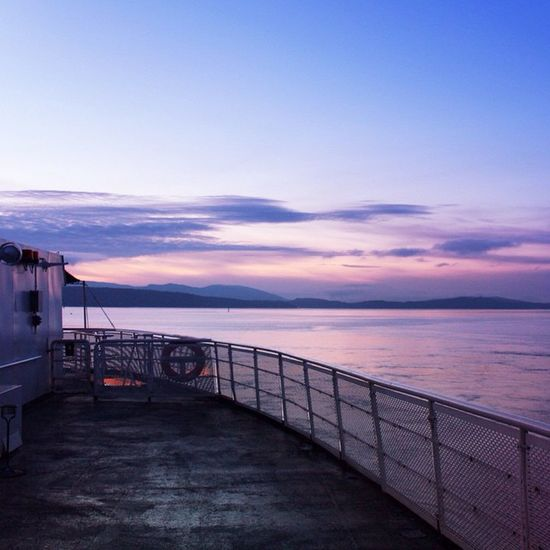 Leaving Mayne island 2015  NewYear Gulfislands Mayneisland Vancouver Bcferries