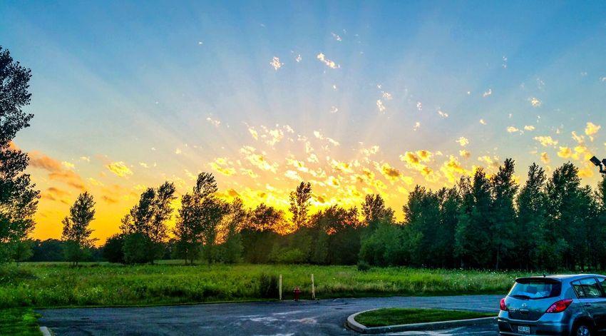 Sunset Firesky Skyporn Skyphotography Sunlight Amazing Nature Beauty In Nature Outdoors Wisconsin USAtrip Happy Traveller First Eyeem Photo Light Effect Goodvibes Wonderland Explore The World Aroundtheworld VSCO Vscophile Vsocam Pictureoftheday EyeEmNewHere