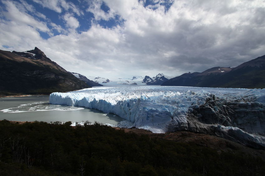 Perito Moreno. Patagonia. Argentina. Beauty In Nature Day Environment Glacial Glacier Global Warming Ice Iceberg Landscape Melting Mountain Nature No People Outdoors Range Scenery Sky Water Wilderness