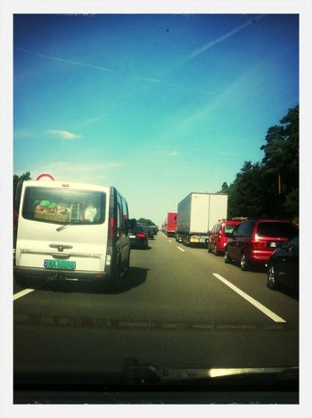 OH NO! Stuck In Traffic On our way to Eps13