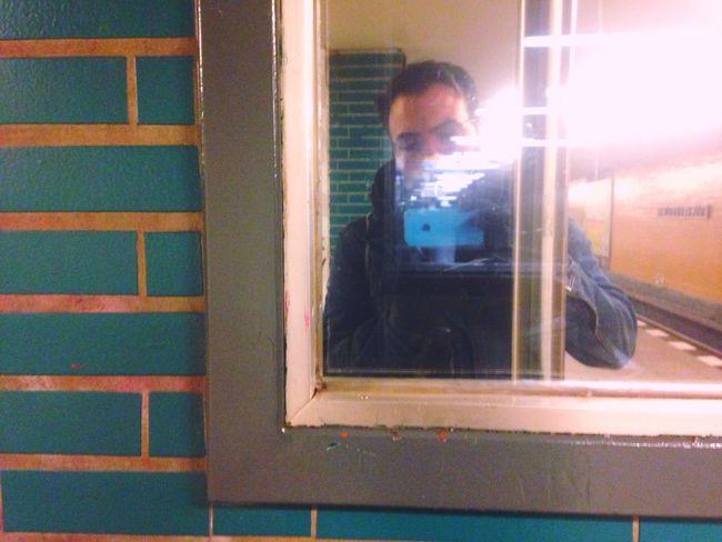 Subway Self Portrait Selfies