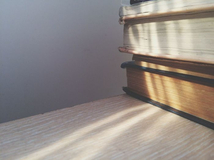Wooden Books Knowledge Sunbeam Book Table Indoors  Close-up Wood - Material No People Day Creative Space