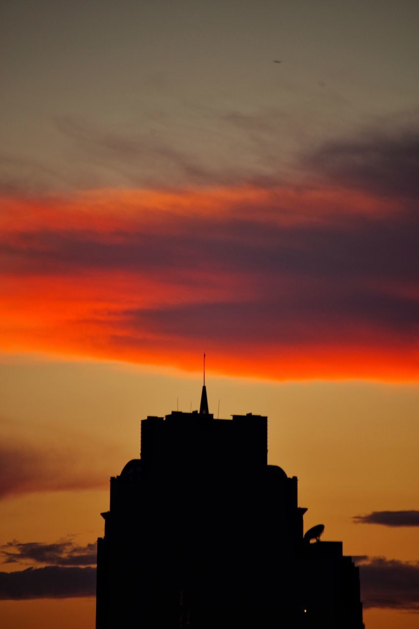sunset, orange color, architecture, built structure, building exterior, sky, silhouette, cloud - sky, no people, outdoors, travel destinations, beauty in nature, place of worship, history, nature, day