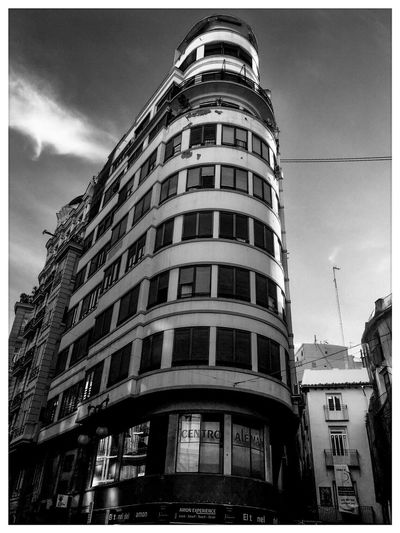 Valencia El Mercat Building Exterior Architecture Sky Built Structure Transfer Print City Building