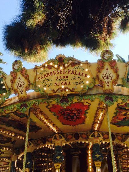 Nice Nice / Nizza Nizza Carosello Carousel Giostra Happy 2015  Nice, France Nizza Francia Côte D'Azur Sun