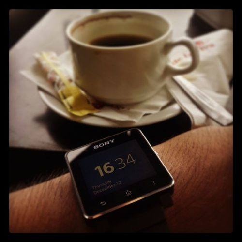 Blackin' your day Blackcoffe Blackisthebest Smartwatch2 Debolivacafe