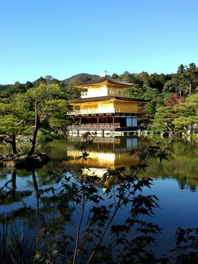 Japan Kyoto Temple Kinkaku-ji Rokuon-ji 金閣寺