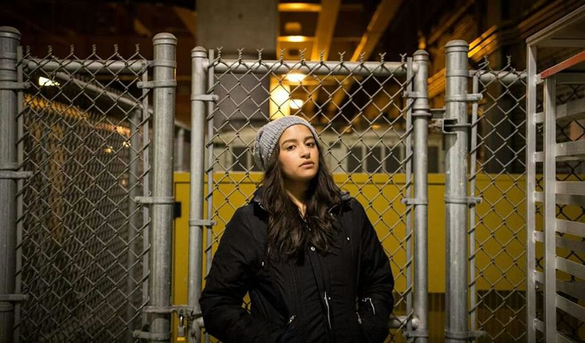 When you see an open gate and become absolutely mesmerized in the potential of the lighting. EyeEm Best Shots Streetphotography Model Street Photography Always Stand Out Late Nights Fence Sneaking In Urbanexploration Beauty Redefined The Portraitist - 2017 EyeEm Awards