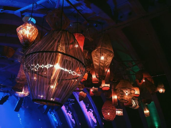 Fusion Festival Stage Lights Lampshades Lighting
