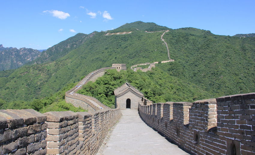 China Landscape Great Wall Great Wall Of China Architecture Built Structure China China Landscape Chinese Day History Nature Outdoors Sky Tourism Travel Destinations