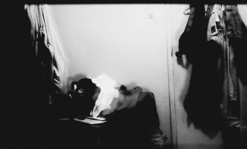 """I call this """"The Messy 3am room"""" Ghosts Blackart Piweephotography Room"""