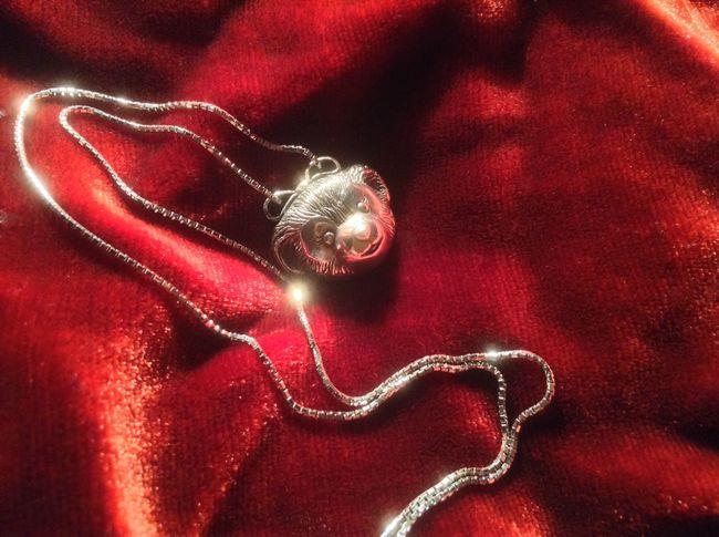 ShellieMay Silver Necklace made by Alexandra Ny Disney Duffy ShellieMay Tokyo Disney Sea Disneybear Handmade Jewellery