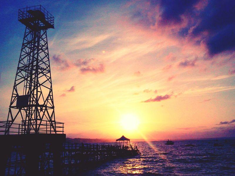 Pangandaran Sunrise Beach Lanscape Photography