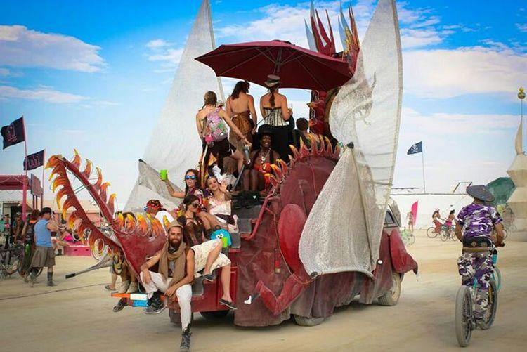 RePicture Travel Burning Man Burningman Travel Relaxing Enjoying Life Dragon Art Cars Exploring New Ground Snapshots Of Life