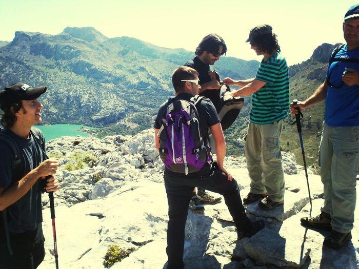 High Mountain Treking