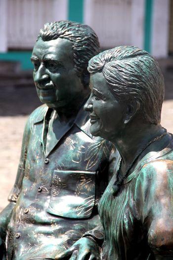 Brasil Salvador Bahia Brazil Jorge Amado Sculpture Statue Art And Craft Human Representation Representation Male Likeness Creativity No People Focus On Foreground Day Close-up Outdoors Sunlight