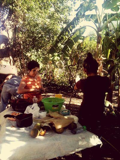 El arte de hacer tamales en mexico Navidad 2015 Cena Navideña En El Campo