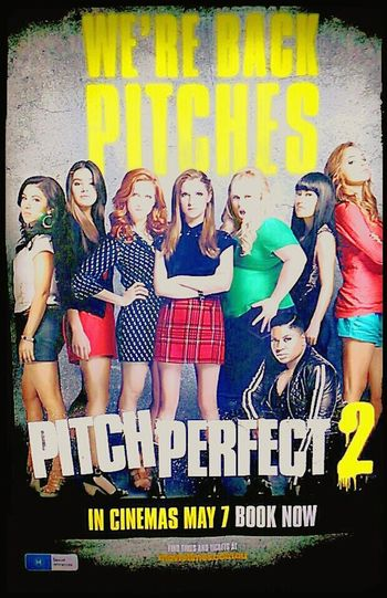 Bıtch Biätch PitchPerfect PitchPerfect2 Illuminatedsigns We're Back We're Back . We're Back Pitches Pitch Perfect 2 Bitches Movie Poster Illuminated Signs At The Movies Billboard MOVIE Bad Bitches Only Pitch Perfect Watching Pitch Perfect  Poster Bad Bitches Cinema Poster Posters At The Flicks Cinema Posters Cinema Movie Posters Movies (: Sign Movies!  Movieposter