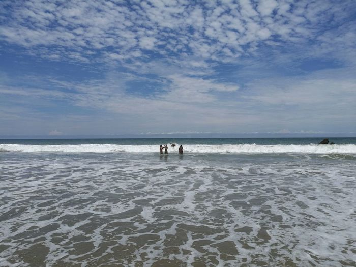 Bluesky Ocean Summer Trip Vacations Friends EyeEmNewHere Mancora Peru Nofilter Lost In The Landscape