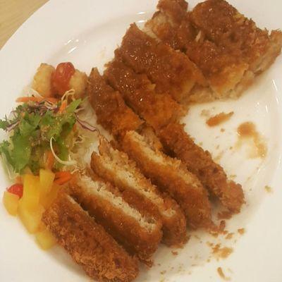 먹스타그램 돈까스 고봉민김밥