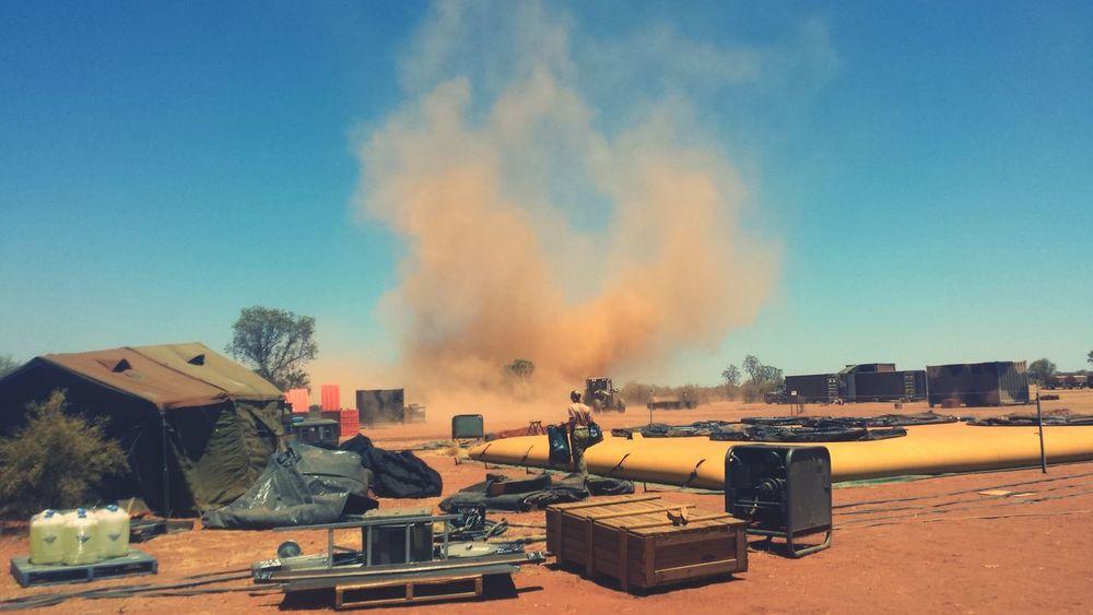 Another dust devil On The Road Rural Scenes Ruralbeauty Australia