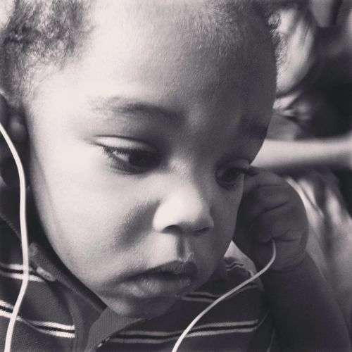 My Little Brother Listening To Music...Can My Little Brother Get Some Likes