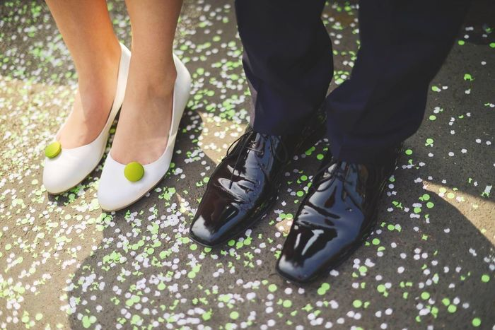 Confetti Just Married Happy Wedding Photography Shoes Details Beautiful Day Emotions I Love My Job! Better Together www.julibild.de