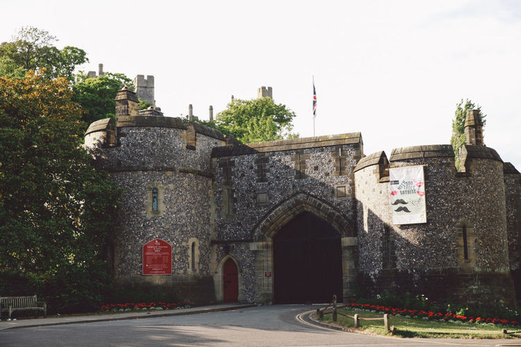 Architecture Built Structure Castle Day Entrance Exterior Façade Gate Historic History No People Old Outdoors Sky Summer Sunset The Past Walls