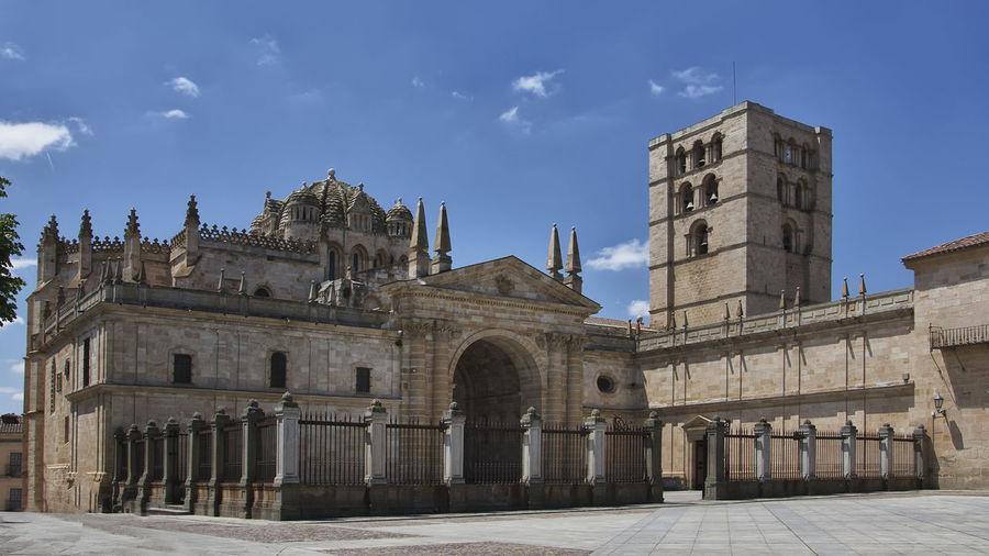 Architecture Catedral De Zamora History Religion Turism Zamora